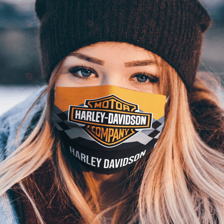 Harley Davidson Face Mask - Made in the USA 1