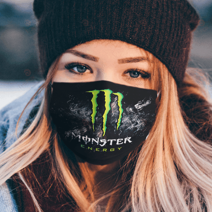 Monster Energy Face Mask u2013 Made in the USA 1
