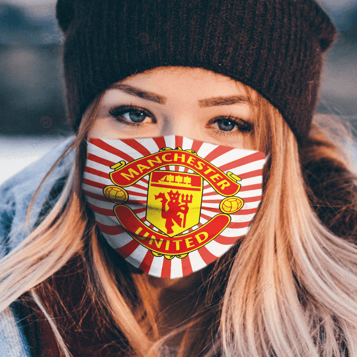 Manchester United Face Mask u2013 Made in the USA 1