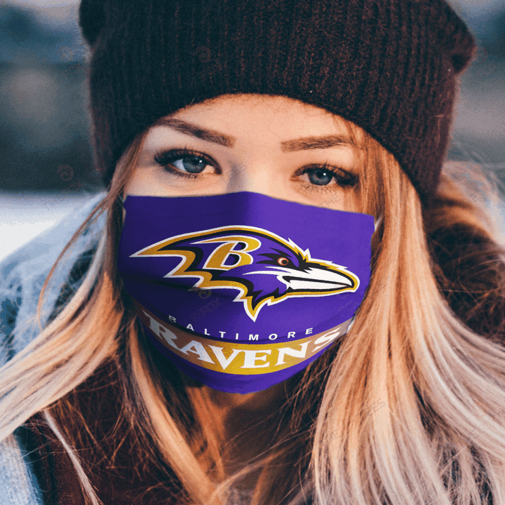 Baltimore Ravens Face Mask u2013 Make in the USA 1