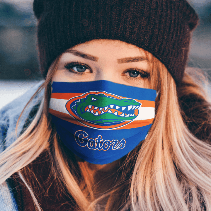 Florida Gators Fabric Face Mask u2013 Made in the USA 1
