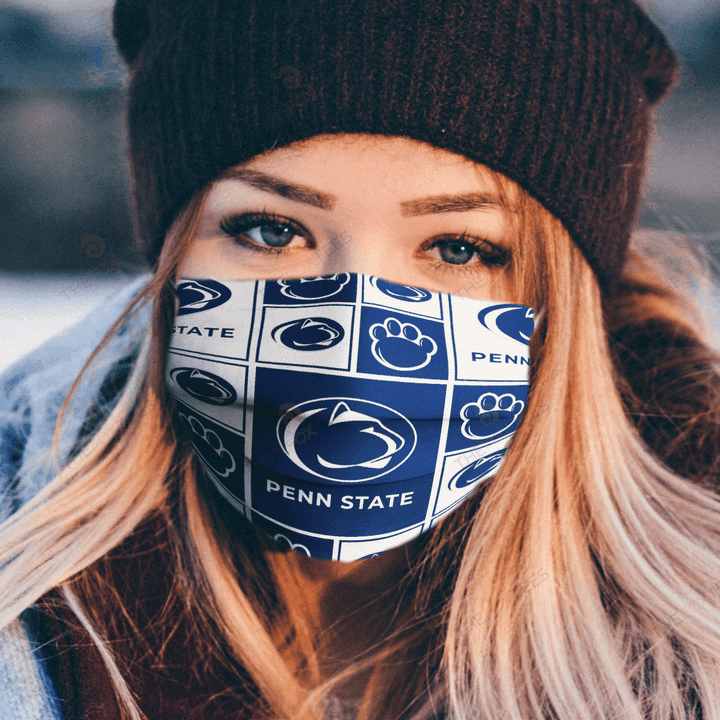 Penn State Face Mask - Made in the USA 1