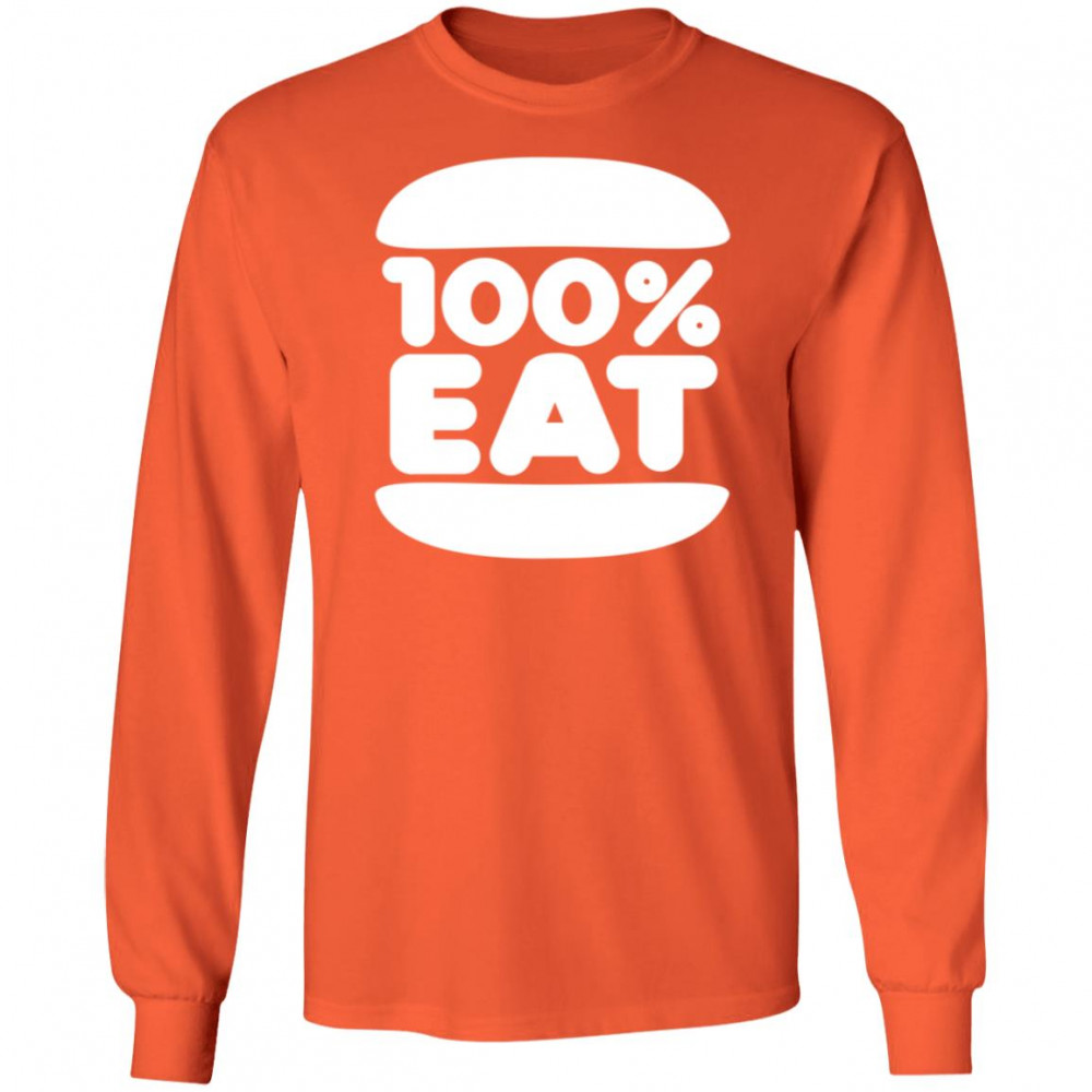 Face Jam 100 Percent Eat Shirt 2