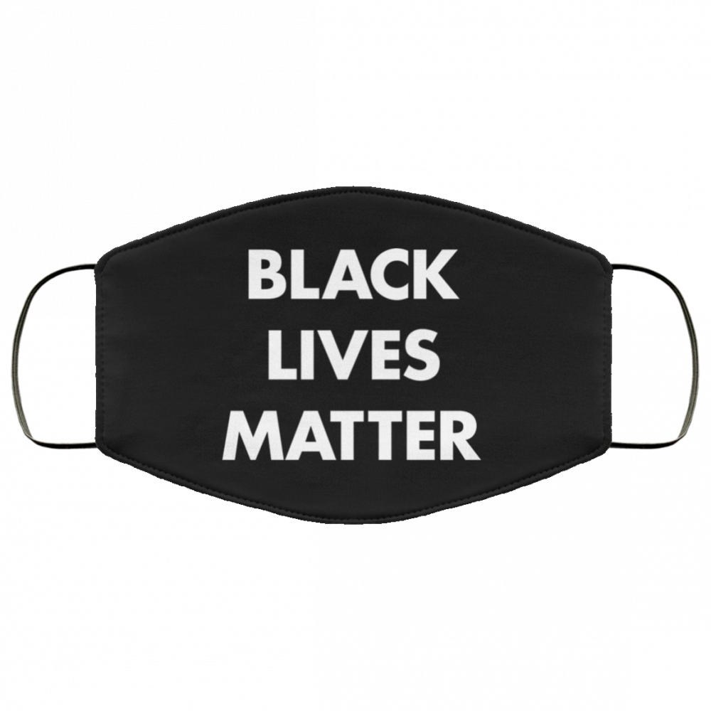 Black Lives Matter BLM Face Mask 1