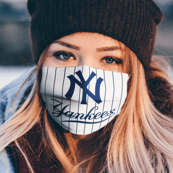 New York Yankees Face Mask Antibacterial Fabric 253878 2