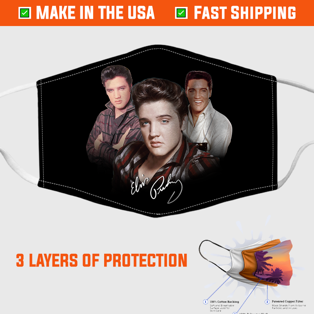 Elvis Presley Face Mask – Made in the USA 1