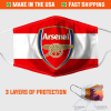 Arsenal Face Mask Made In The Usa 253889 2
