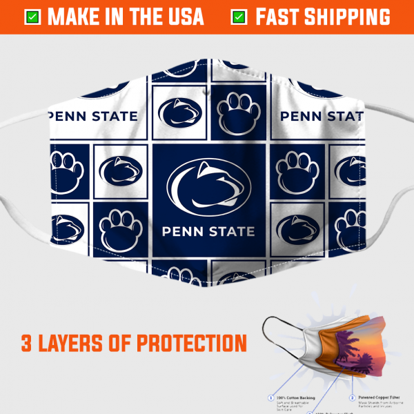 Penn State Face Mask Made In The Usa 253911 2