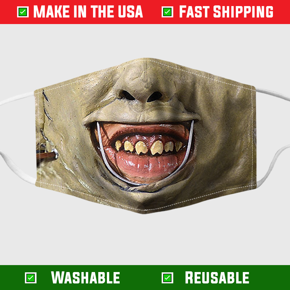 Halloween Leatherface face mask – Made in the USA 8