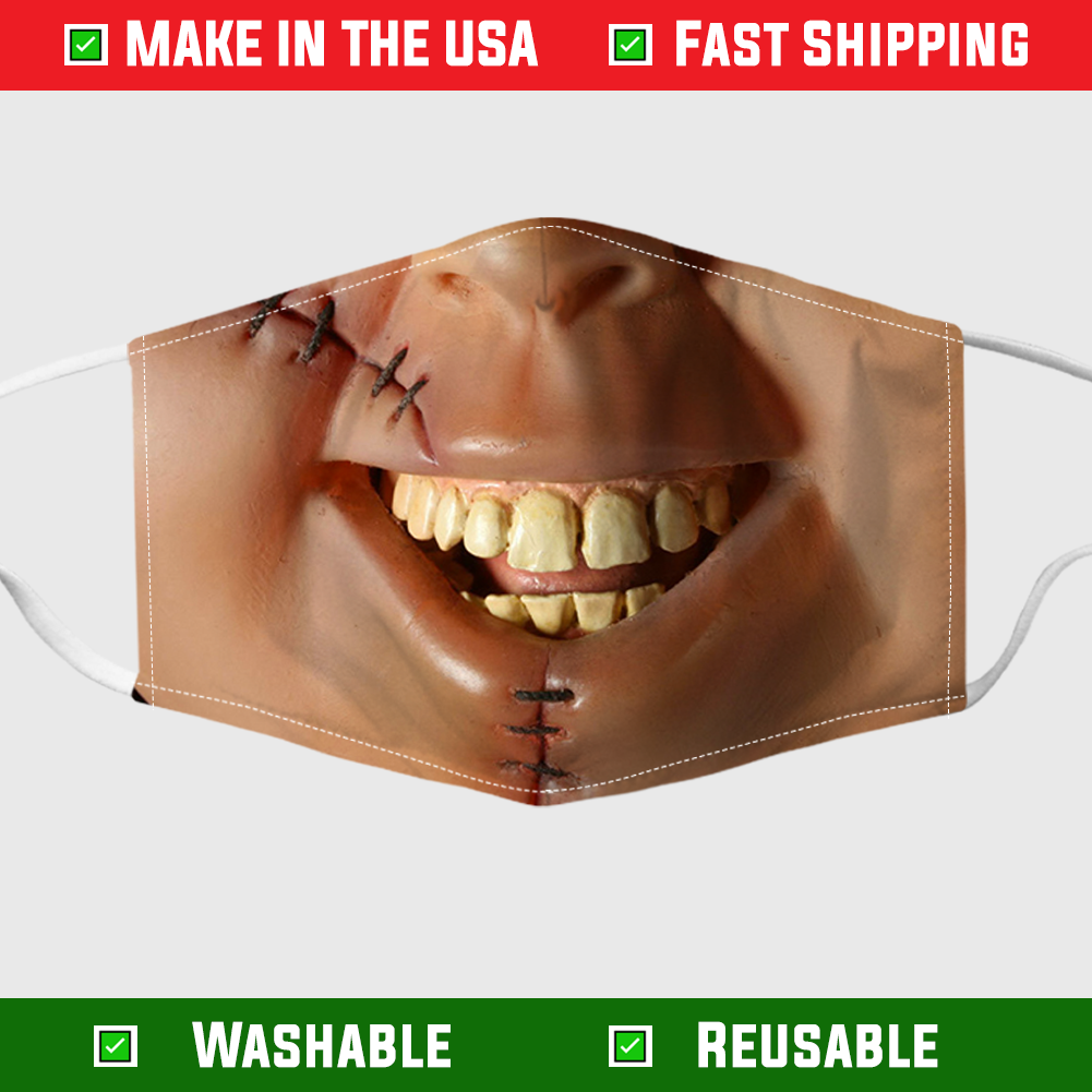 Chucky face mask – Made in the USA 6