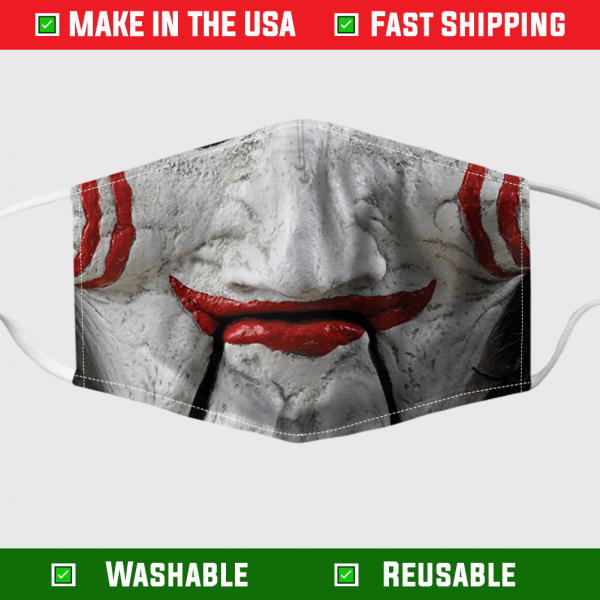Horror Jigsaw face mask – Made in the USA 1