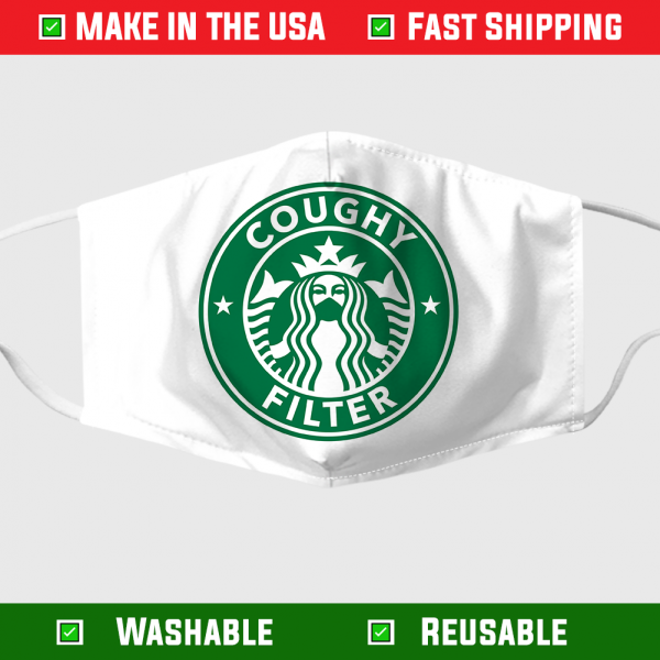 Starbucks Coughy Filter Face Mask – Made in the USA 1