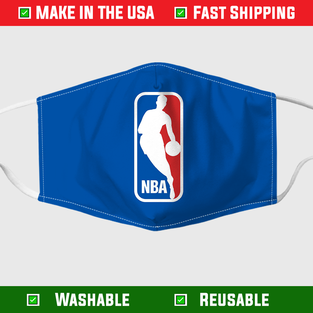 NBA logo face mask – Made in the USA 6