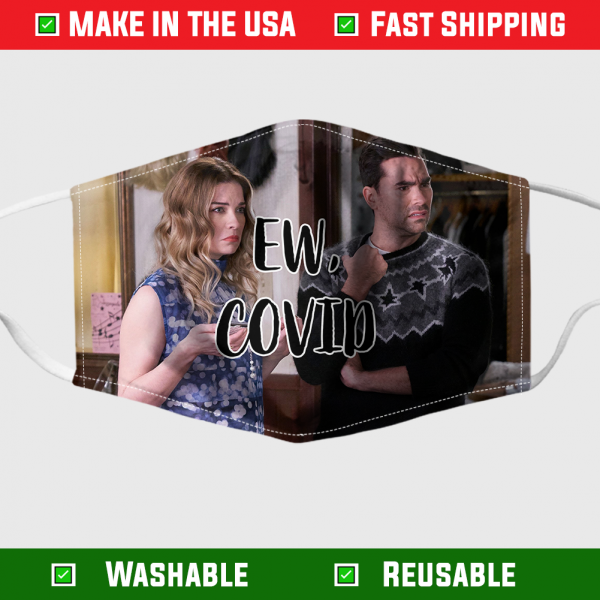 David and Alexis EW Covid face mask 1