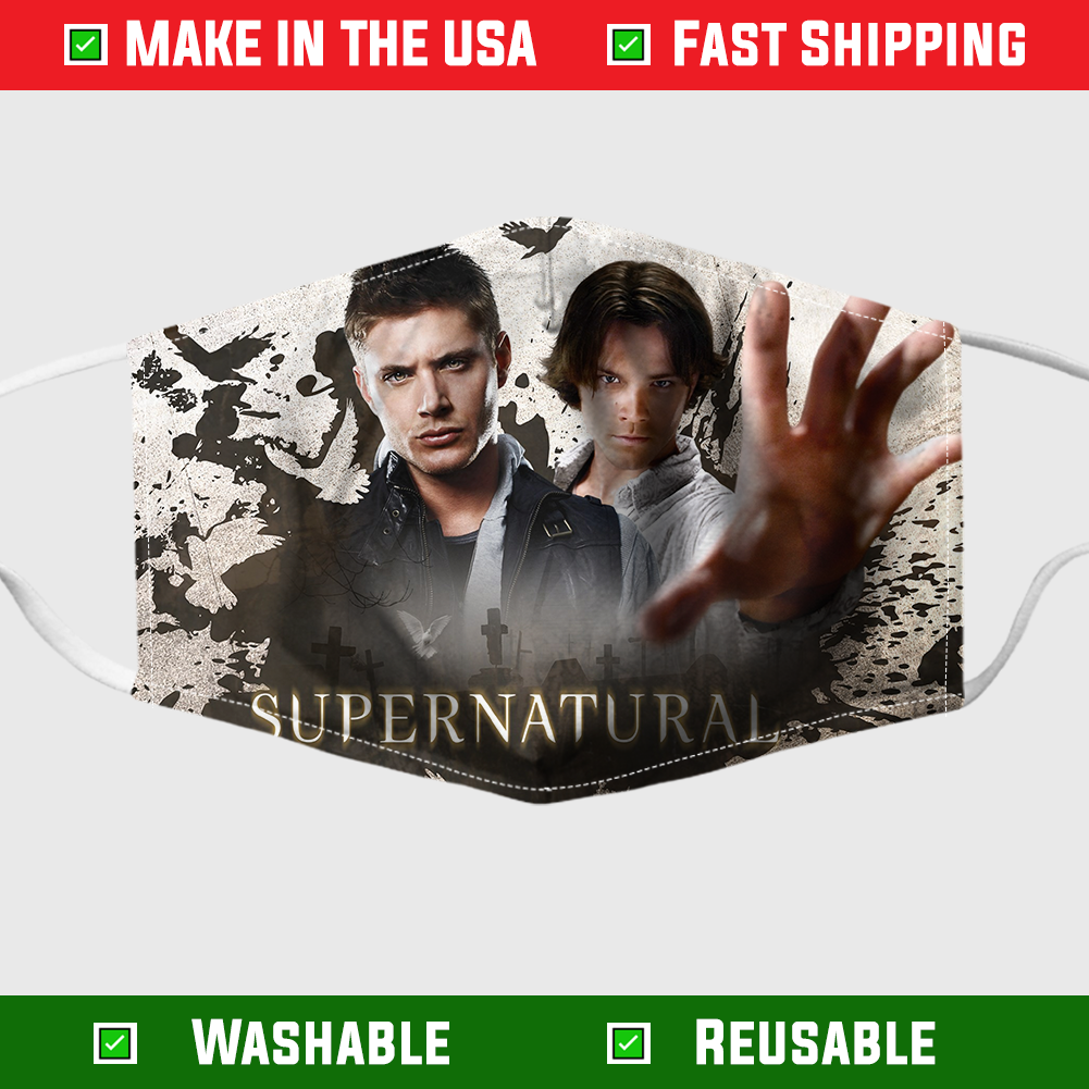 Supernatural Face mask – Made in the USA 3