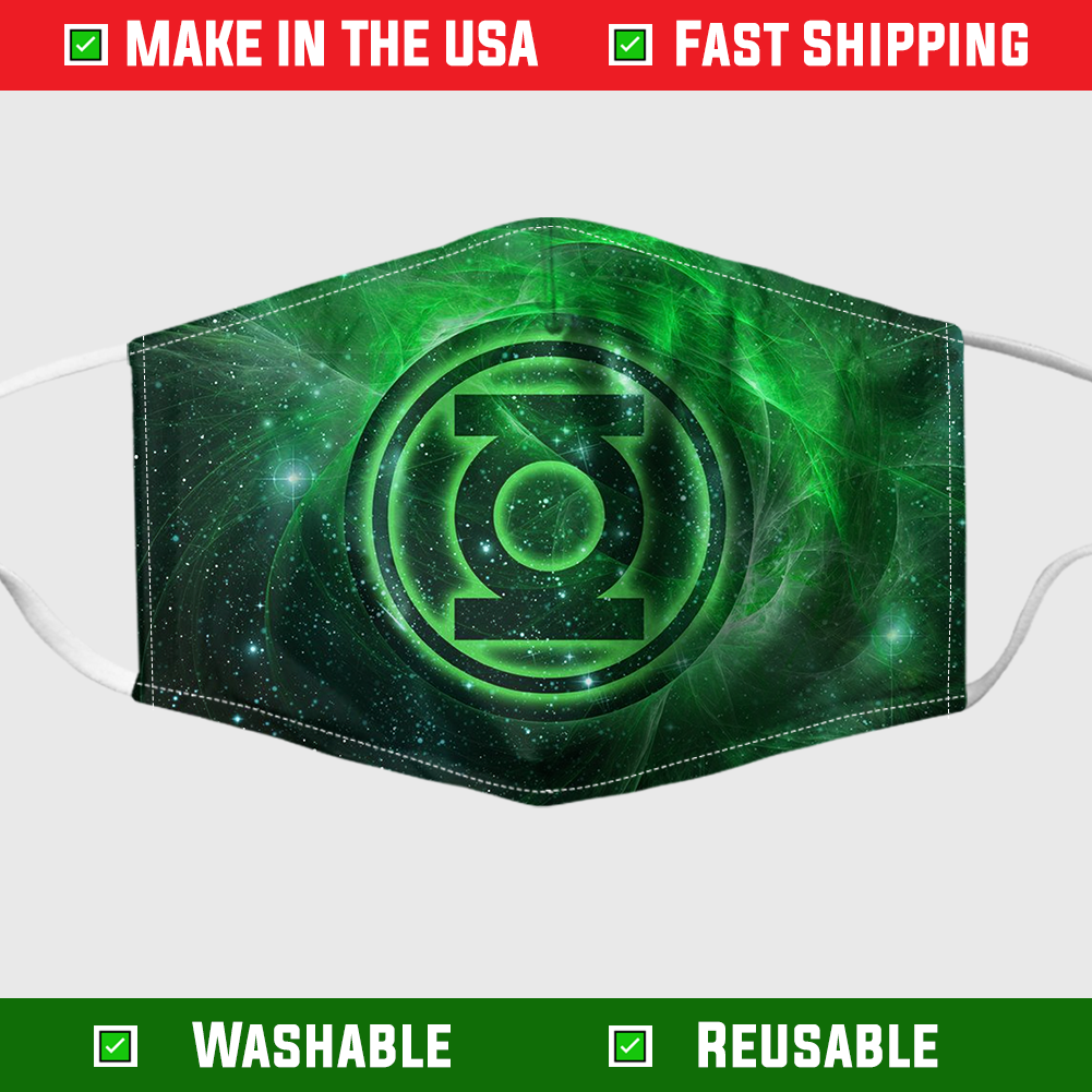 GREEN LANTERN CORPS face mask 3