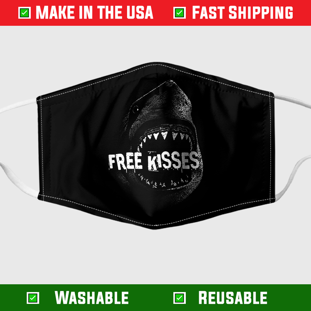 Shark free kisses face – Made in the USA 3