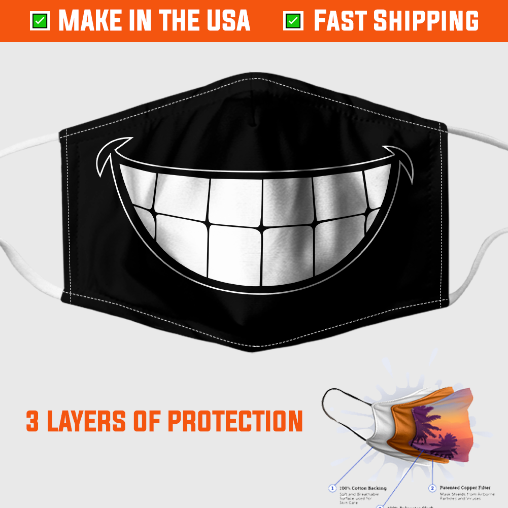 Smiling Face Mask 1