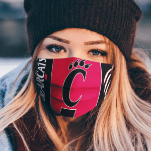Cincinnati Bearcats Cloth Face Mask.png