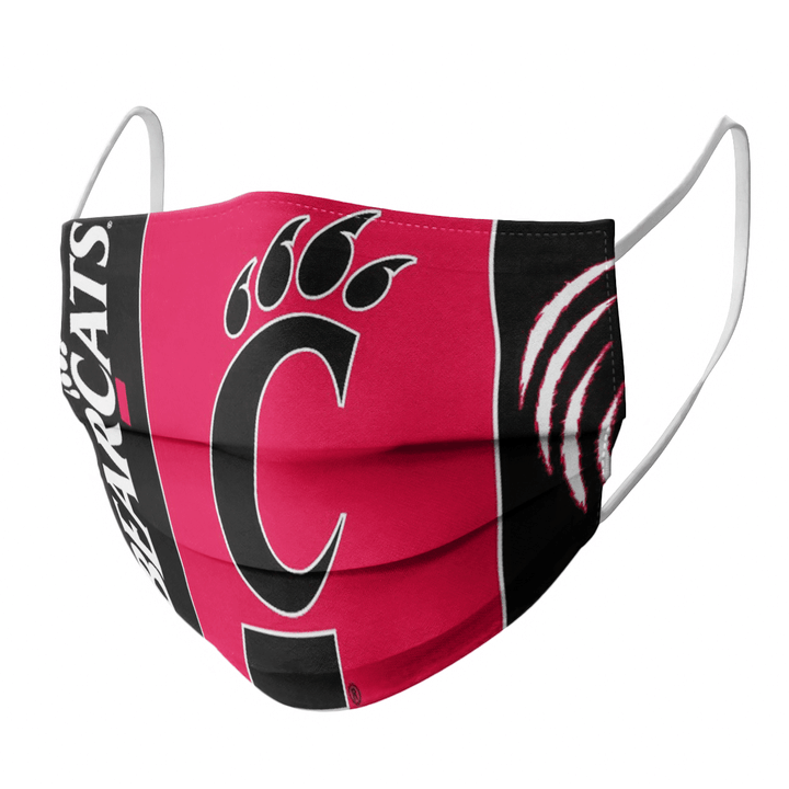 CINCINNATI BEARCATS CLOTH FACE MASK  - Made in USA 1