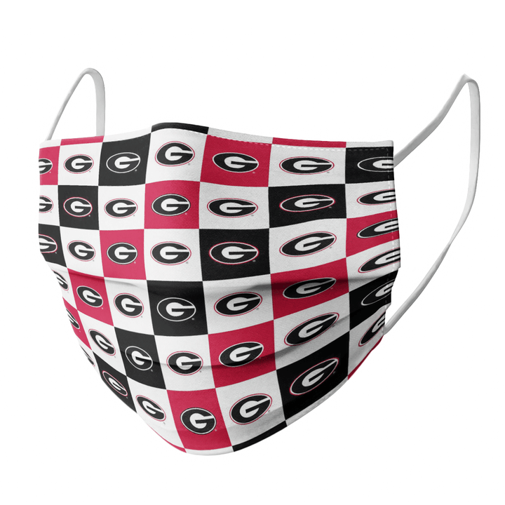 GEORGIA BULLDOGS FACE MASK - Made in USA 1