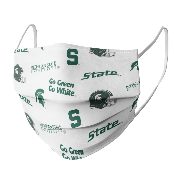 MICHIGAN STATE CLOTH FACE MASK - Made in USA 1