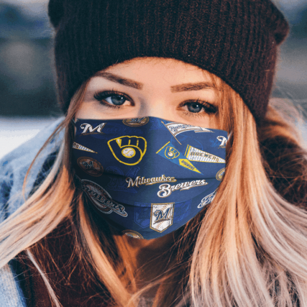 Milwaukee Brewers Cloth Face Mask 2.png
