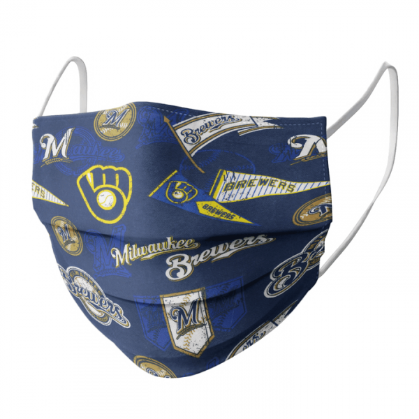 Milwaukee Brewers Cloth Face Mask1.png