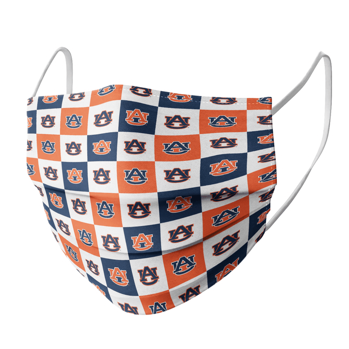 AUBURN TIGERS CLOTH FACE MASK - Made in USA 1