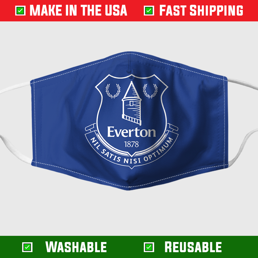 Everton Face mask – Made in the USA 1