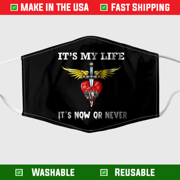 Bon Jovi Its My Life Its Now Or Never Face Mask 7081.png