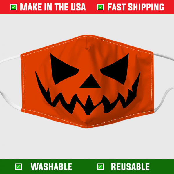 Pumpkin Halloween Face Mask Made In The Usa 7093.png