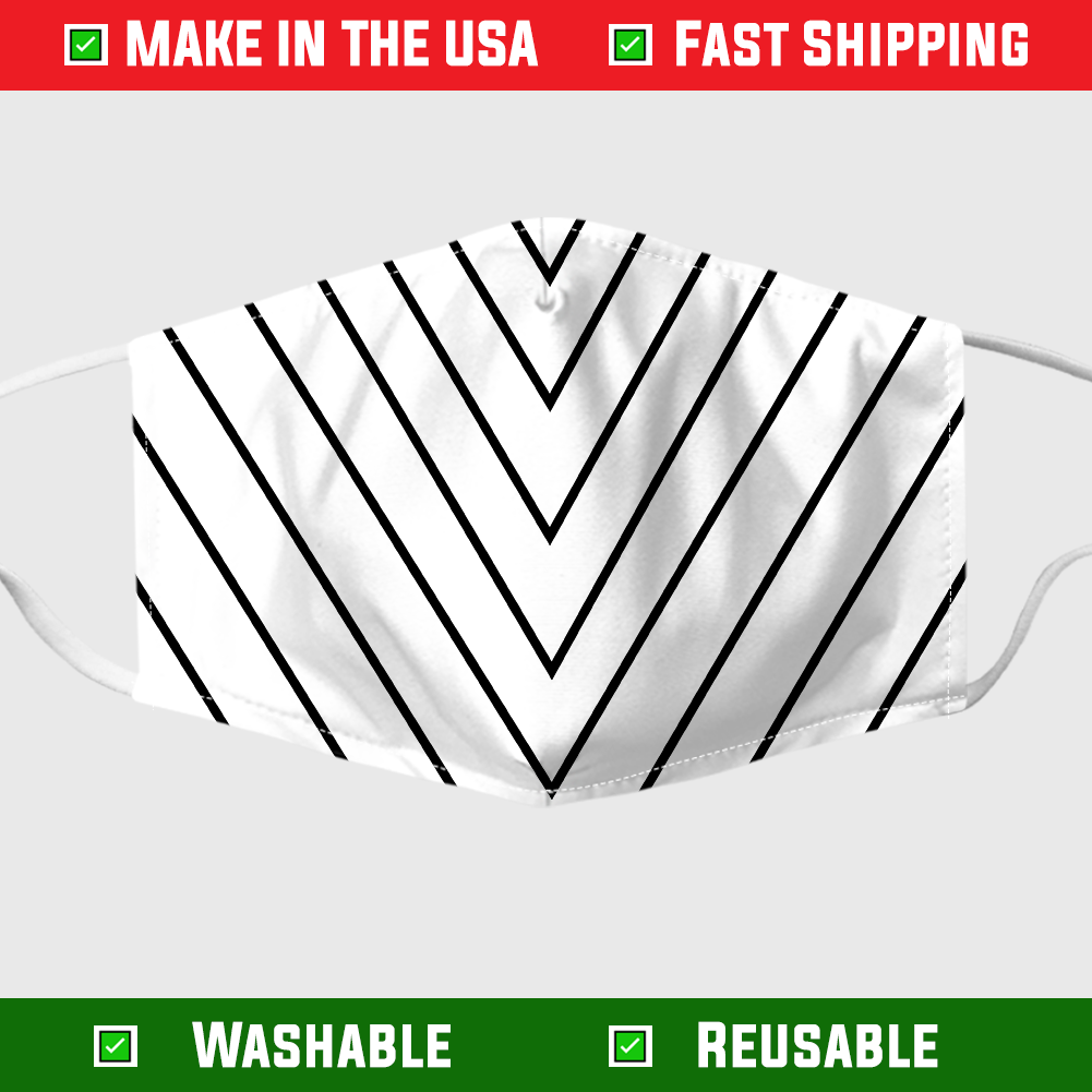 Yankee pinstripe face mask – Made in the USA 1
