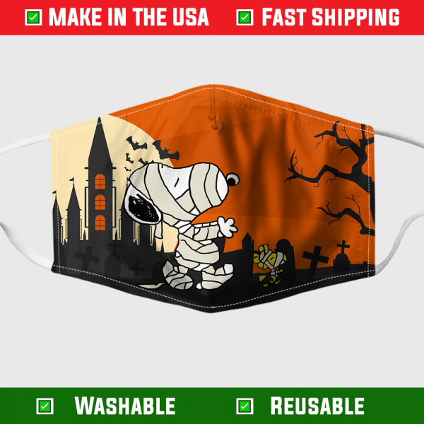 Halloween Snoopy Woodstock Face Mask 7105.png