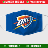 Oklahoma City Thunder Face Mask 254798