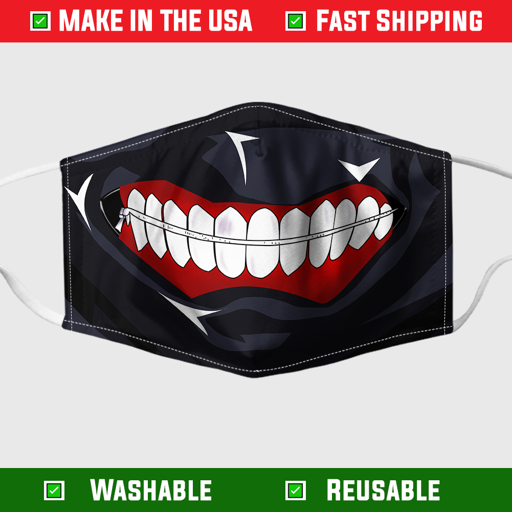 Tokyo ghoul face mask 1
