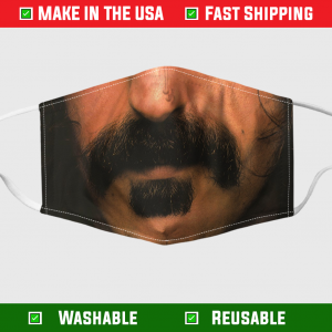 Apostrophe Moustache Face Mask 254819