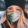 Tie Dye Face Mask Made In Usa 254852