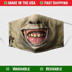 Leatherface Horror Face Mask 254922