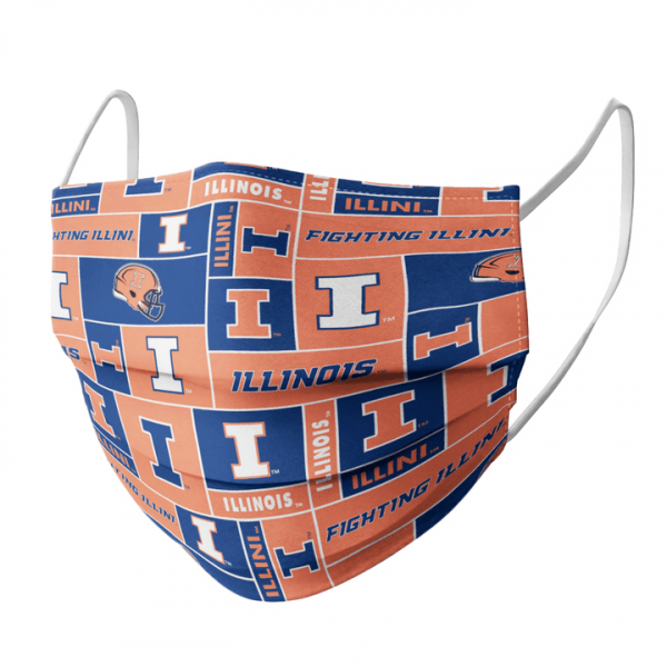 Illinois Fighting Illini Cloth Face Mask1.png
