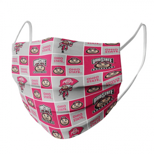 Ohio State Buckeyes Fabric Face Mask1.png