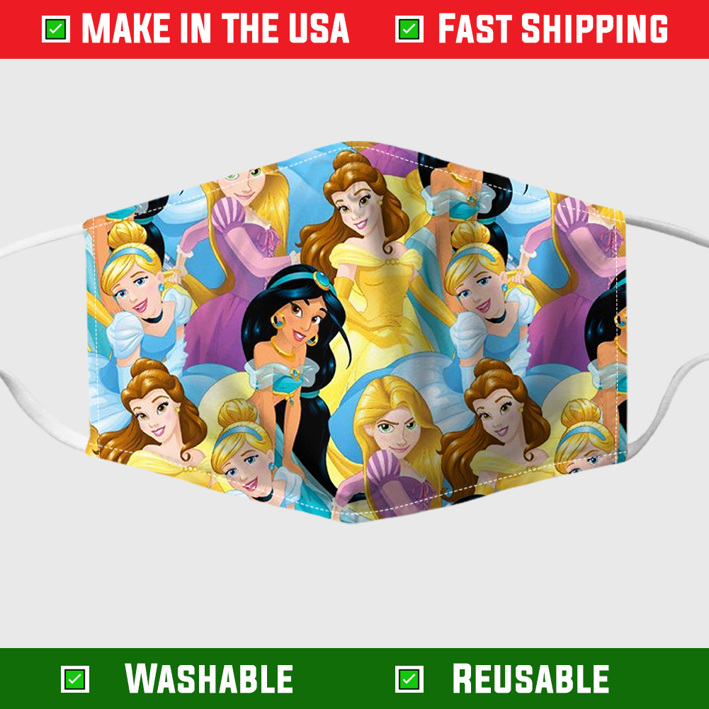 Disney princess face mask 1