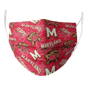 Maryland Terrapins Cloth Face Mask1.png