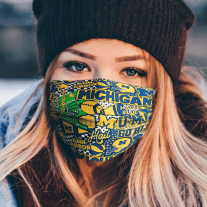 Michigan Wolverines Cloth Face Mask.png