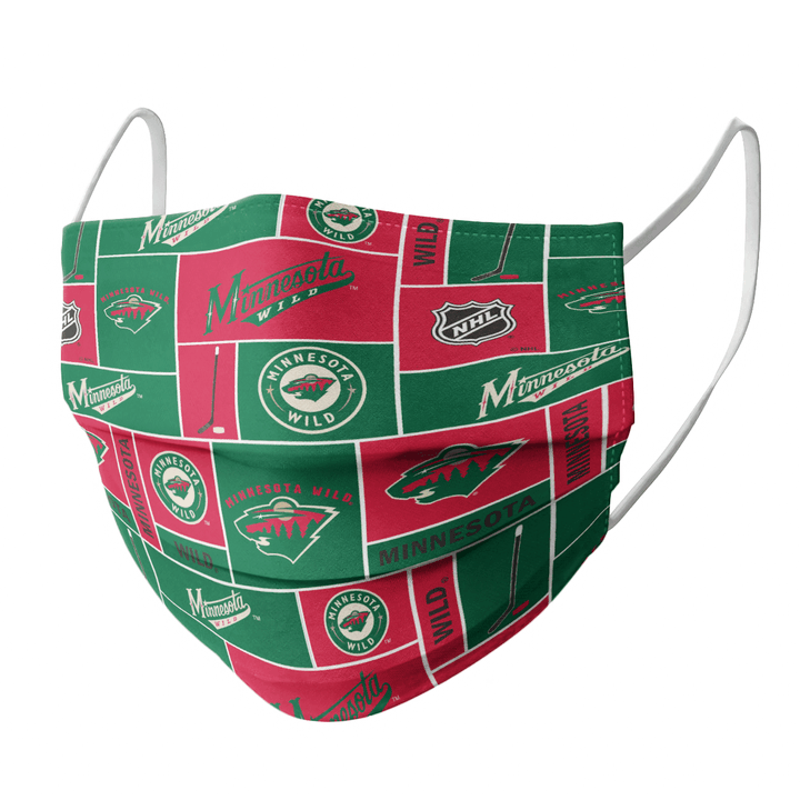MINNESOTA WILD CLOTH FACE MASK - Made in USA 2