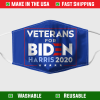 Veteran For Biden Yard Sign Face Mask 255208
