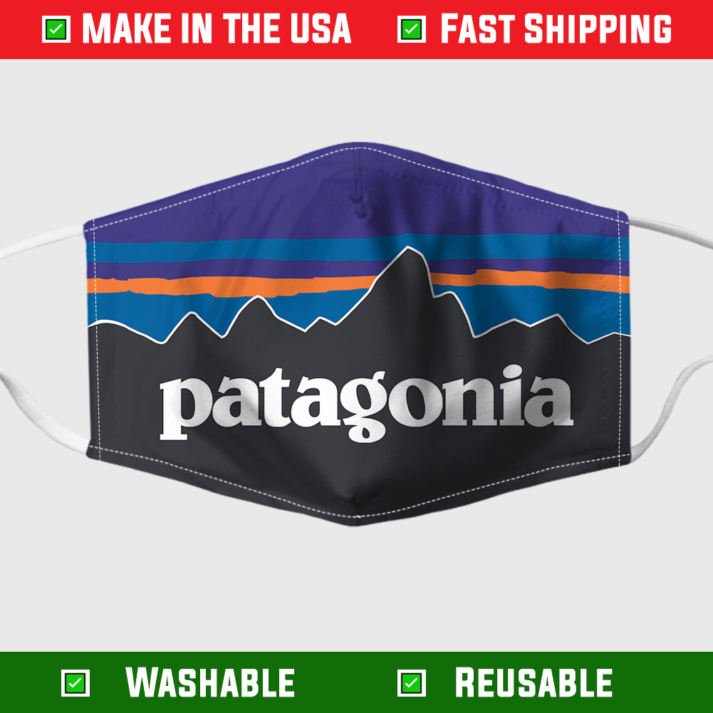 PATAGONIA FACE MASK – MADE IN THE USA 1