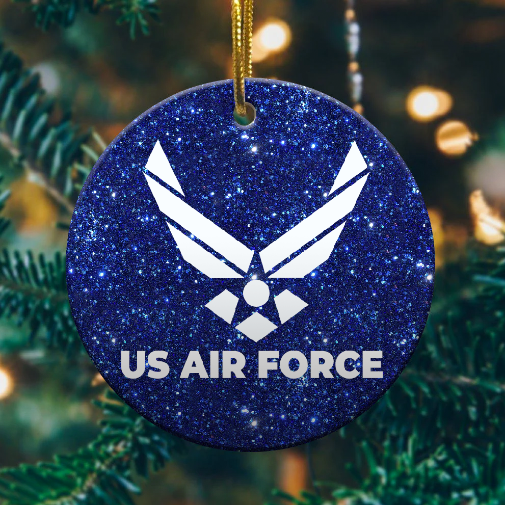 Air Force Christmas Ornament 1