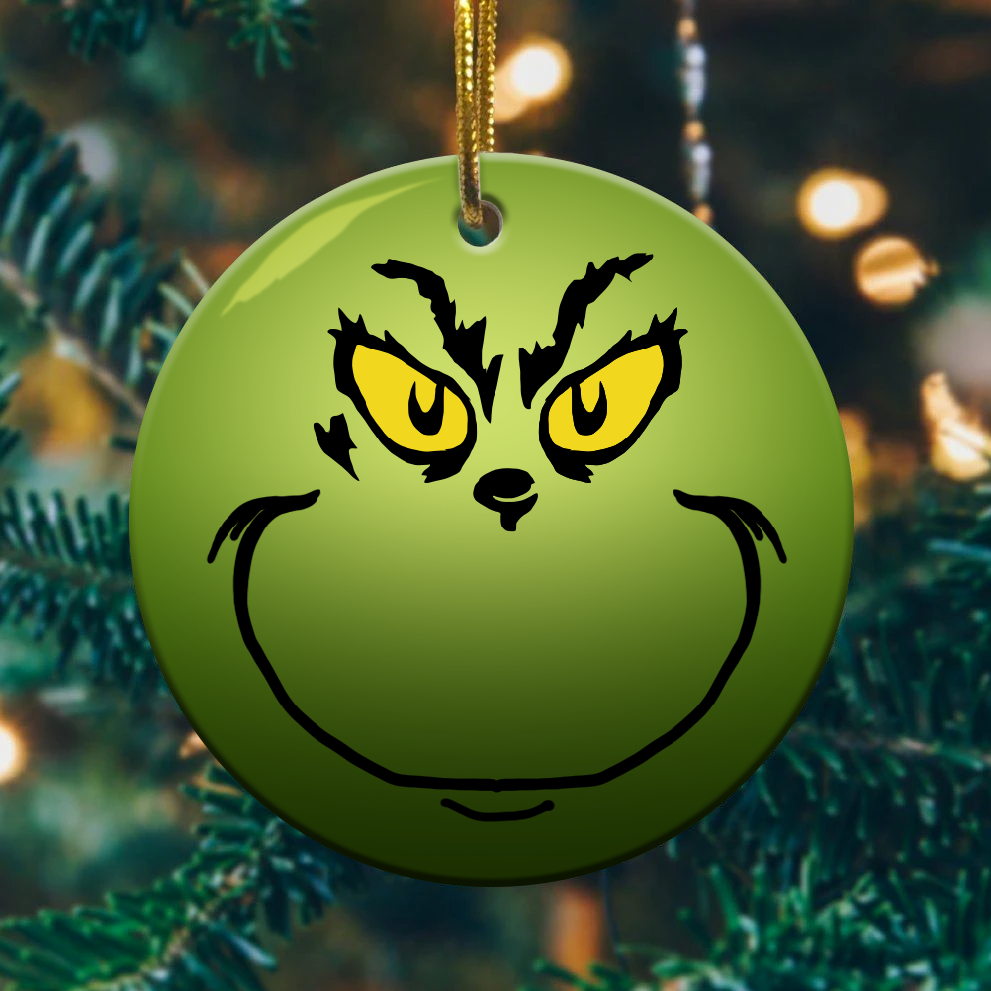 grinch christmas ornaments 1