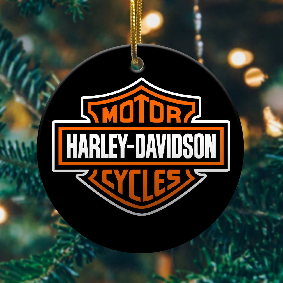 Harley Davidson christmas ornament 1